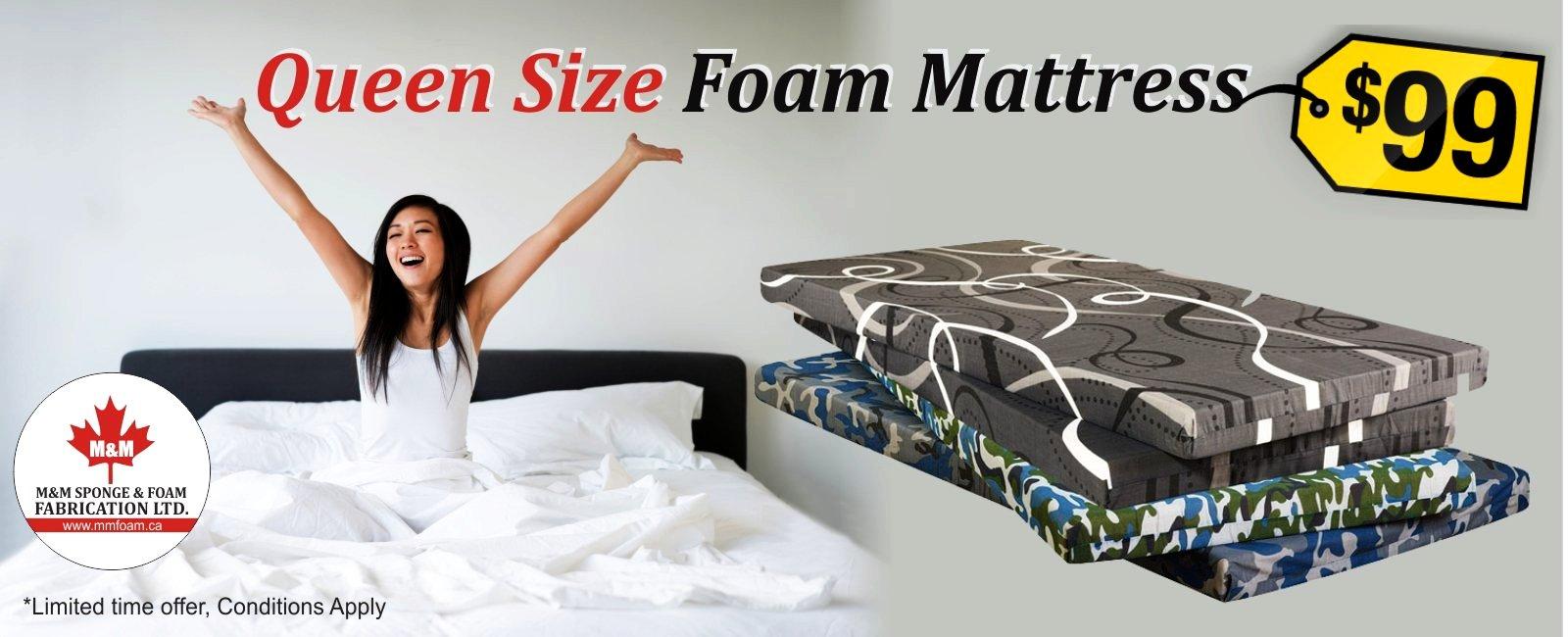 Canada150 Deal Queen Size Foam Sponge Mattress Just For 99 Mm