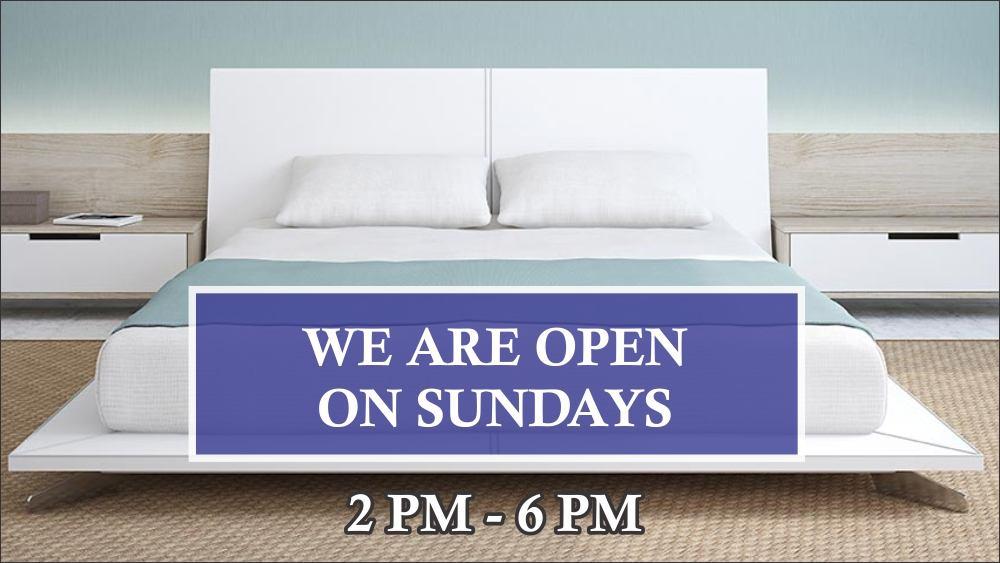 We Are Open On Sundays Mm Foam
